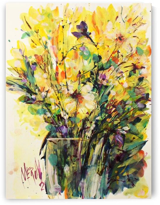 Wildflowers in a vase 14 by Artstudio Merin
