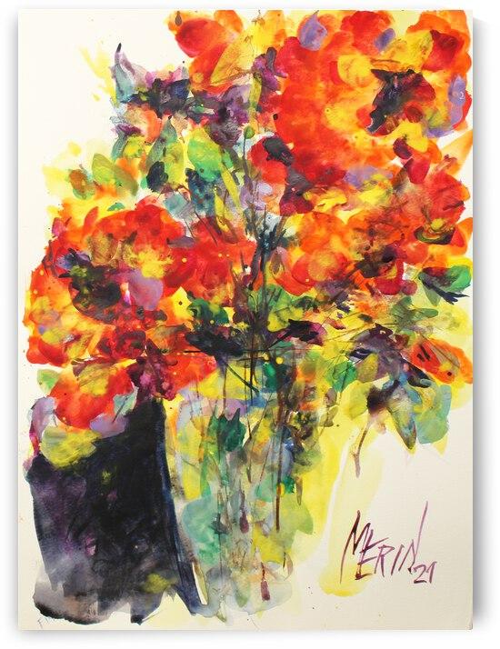 Wildflowers in a vase 15 by Artstudio Merin