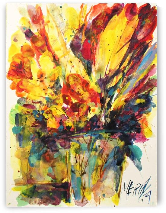 Wildflowers in a vase 16 by Artstudio Merin