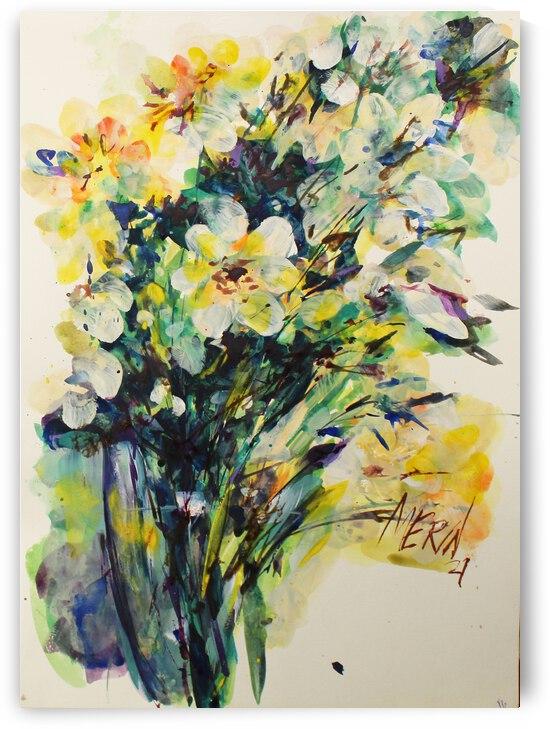 Wildflowers in a vase 17 by Artstudio Merin
