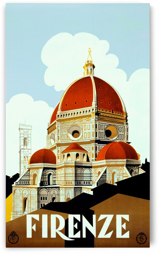 Florence travel poster by ezioman