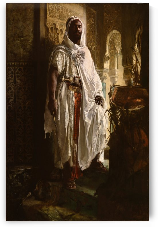 The Guardian of the Seraglio, 1878 by Eduard Charlemont