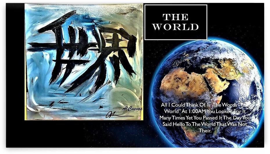 22.THE WORLD  3  by AlCuevas
