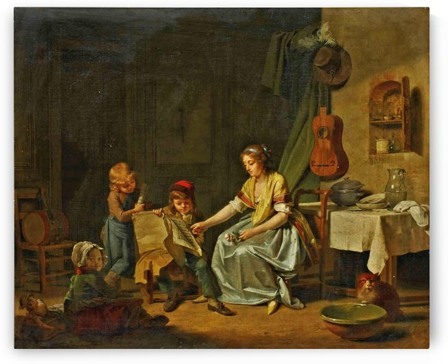 The Music Lesson by Eduard Charlemont