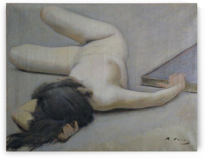 Nu femeni by Ramon Casas i Carbo