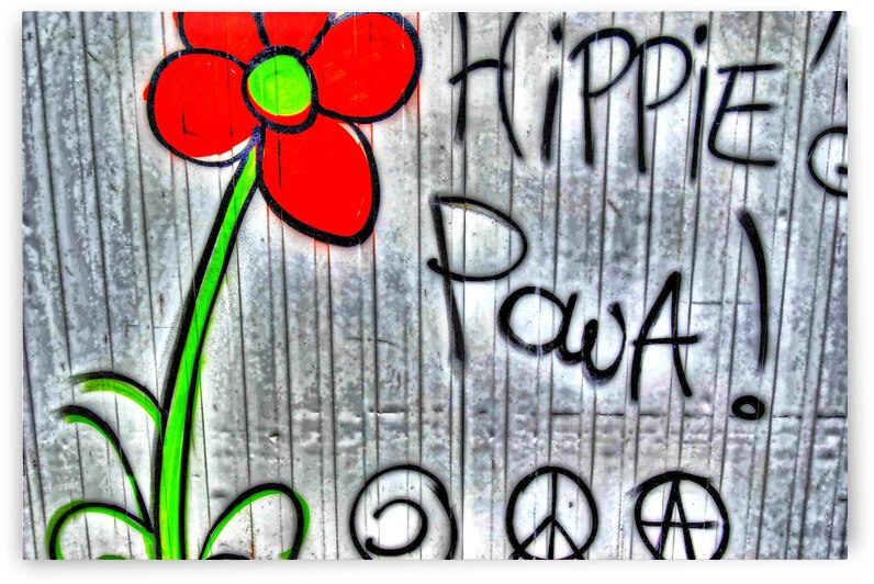 Peace and love by photo art 30 exemplaires