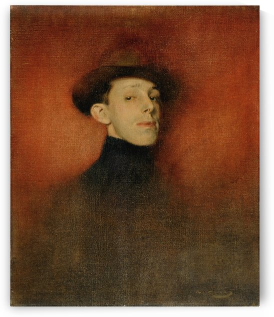 Alfonso XIII, King of Spain by Ramon Casas i Carbo