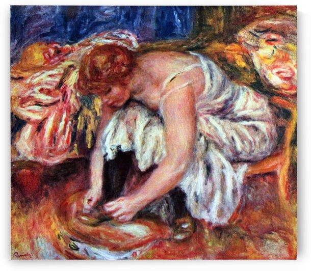 Woman Shoe Syndicate by Renoir by Renoir