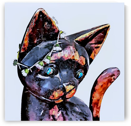 Remember The Sixties Groovy Cat by Dorothy Berry-Lound