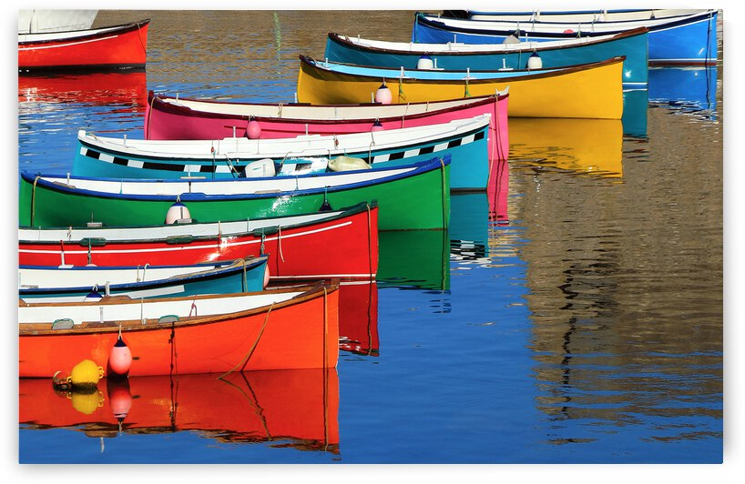 Barques colorees by Photo Max
