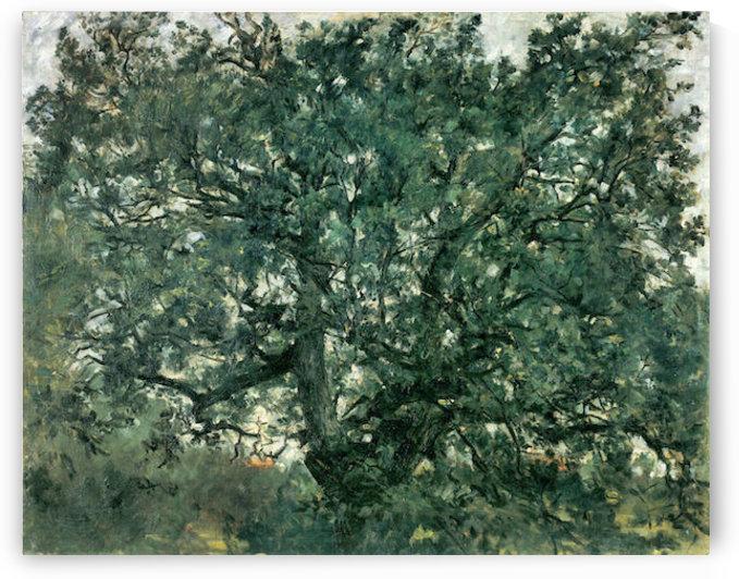 Tree by Lovis Corinth by Lovis Corinth