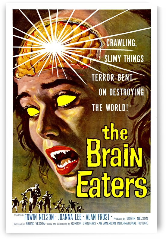 The Brain Eaters by vintagesupreme