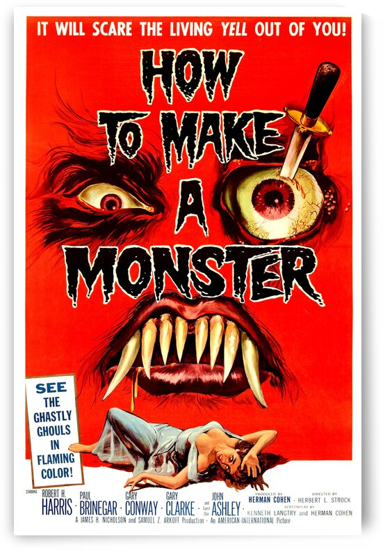 How to Make a Monster by vintagesupreme