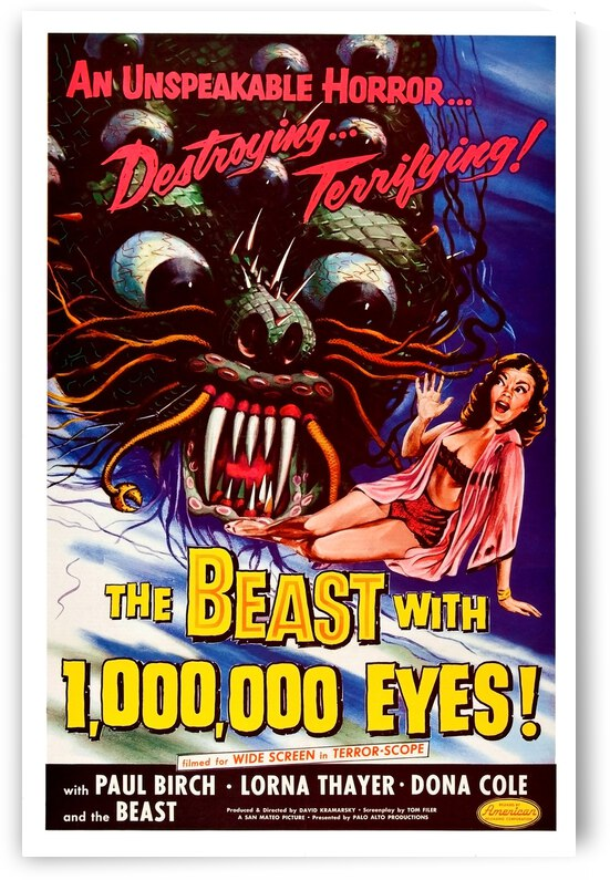 The Beast with One Milion Eyes by vintagesupreme