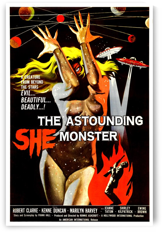 The Astounding She Monster by vintagesupreme