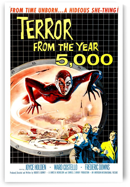 Terror from the Year 5000 by vintagesupreme