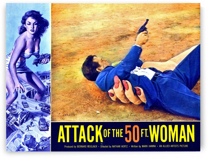 Attack of the 50 foot woman by vintagesupreme