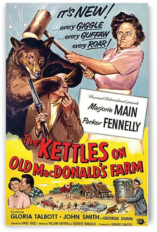 Kettles on Old Mc Donald Farm by vintagesupreme