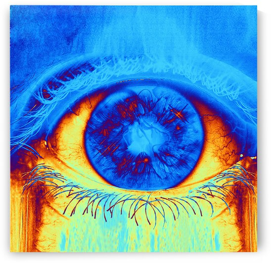 Psychedelic Eye by Matthew Lacey