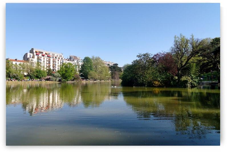 Monsouris park by Hassan Bensliman