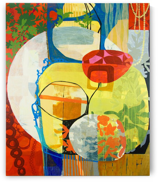 Abstract Full Color XIX by Daniella Broseghini