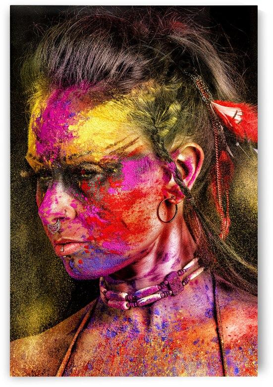Holi Warrior by Jay Lamm