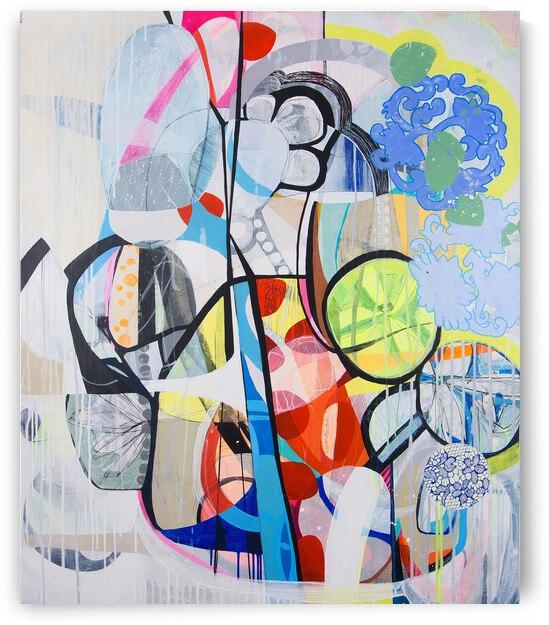 Abstrac Full Color III by Daniella Broseghini