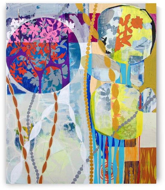 Abstract Full Color I by Daniella Broseghini