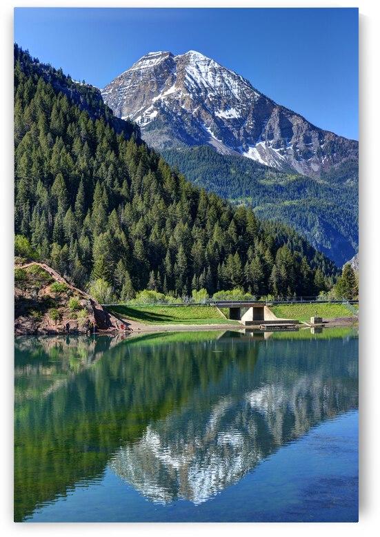 Mt. Timpanogos - Tibble Fork Reservoir - Utah by Gary Whitton