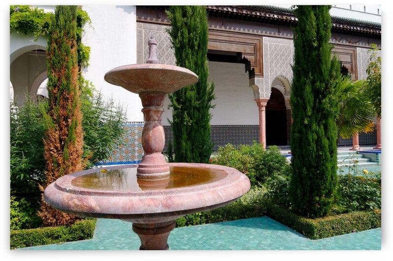 Great mosque garden by Hassan Bensliman