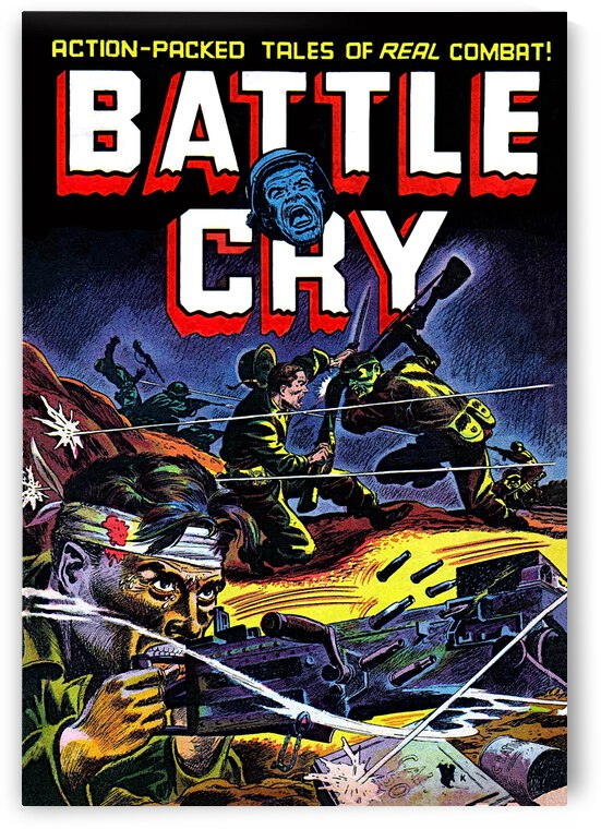 Battle Cry 07 War _OSG by One Simple Gallery