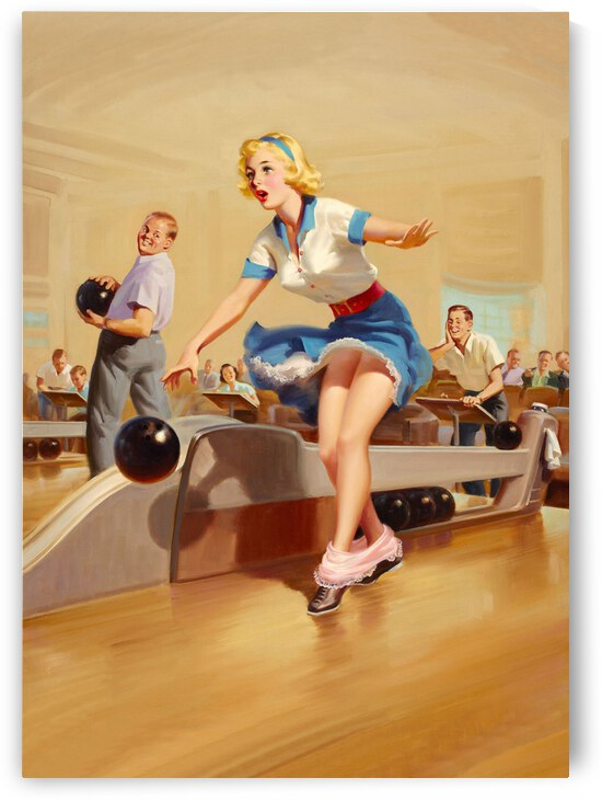 Bowling Accident by vintagesupreme
