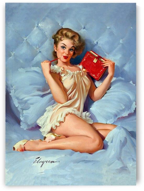 Secret Red Book by vintagesupreme