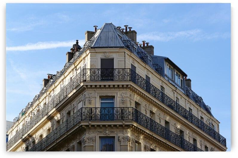 Parisian Corner building by Hassan Bensliman