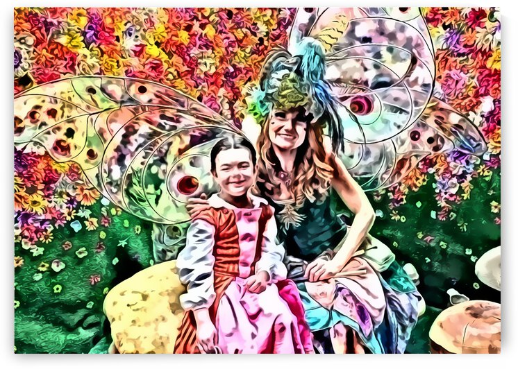 Nora & Twig the Fairy by David S Justin