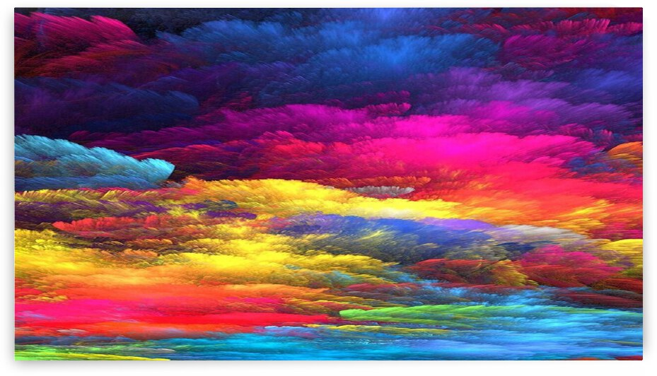 Rainbow Clouds by Angel Photo Art