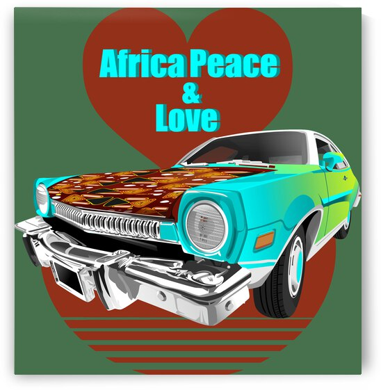 VOITURE MOTIF AFRICA by OPALUS