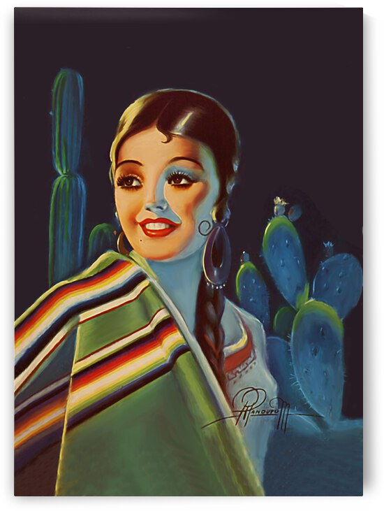 Mexican Girl Portrait by vintagesupreme