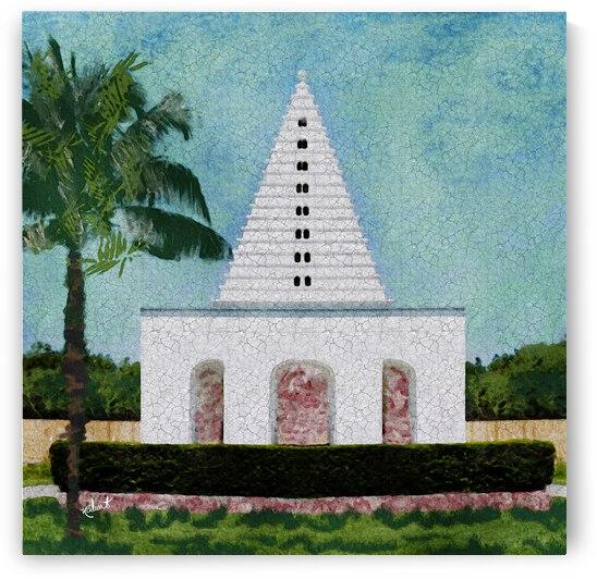 Coastal Pagoda by Nancy Calvert