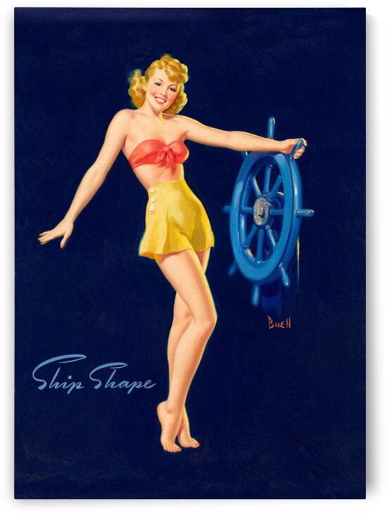 Sailing Girl by vintagesupreme