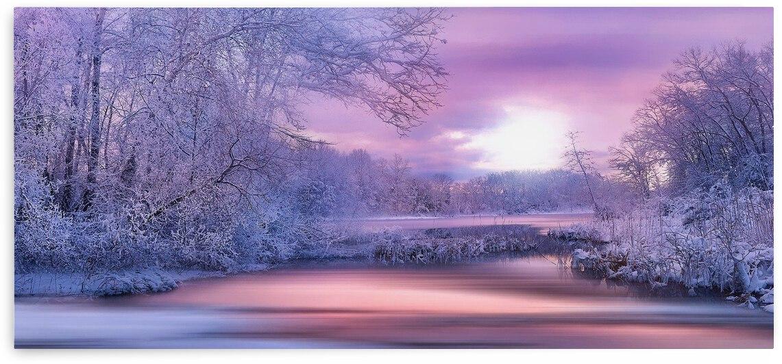 Dreamy Winter Landscape 2 by Angel Photo Art