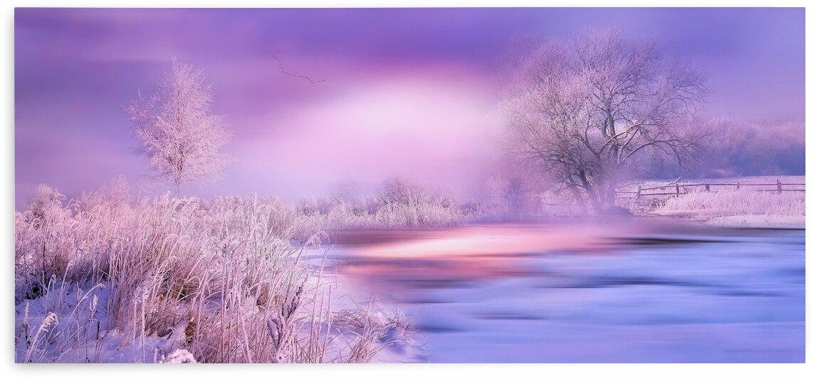 Dreamy Winter Landscape 1 by Angel Photo Art
