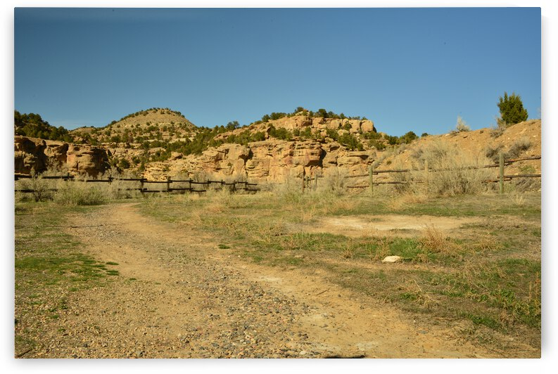 Trail Through Rugged Country by PieLar Inspirations