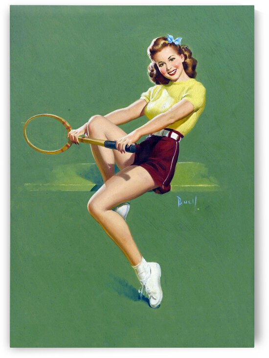 Tennis Course by vintagesupreme