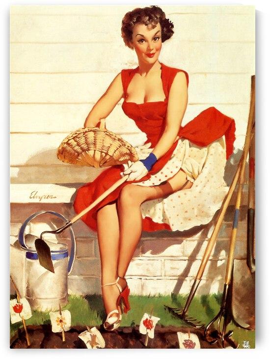 Sexy Gardener Girl by vintagesupreme