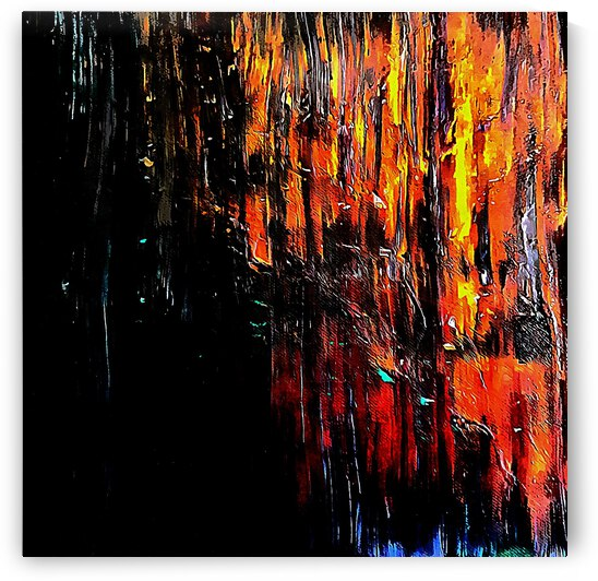 Wood Fire by Dorothy Berry-Lound