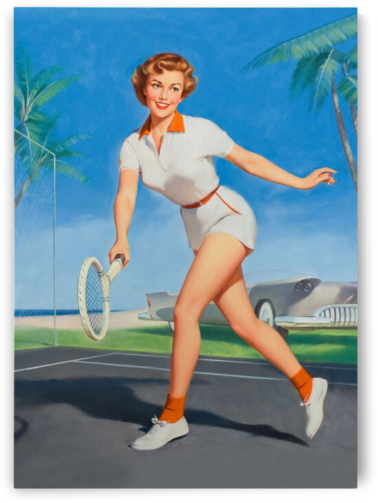 Tennis Match by vintagesupreme