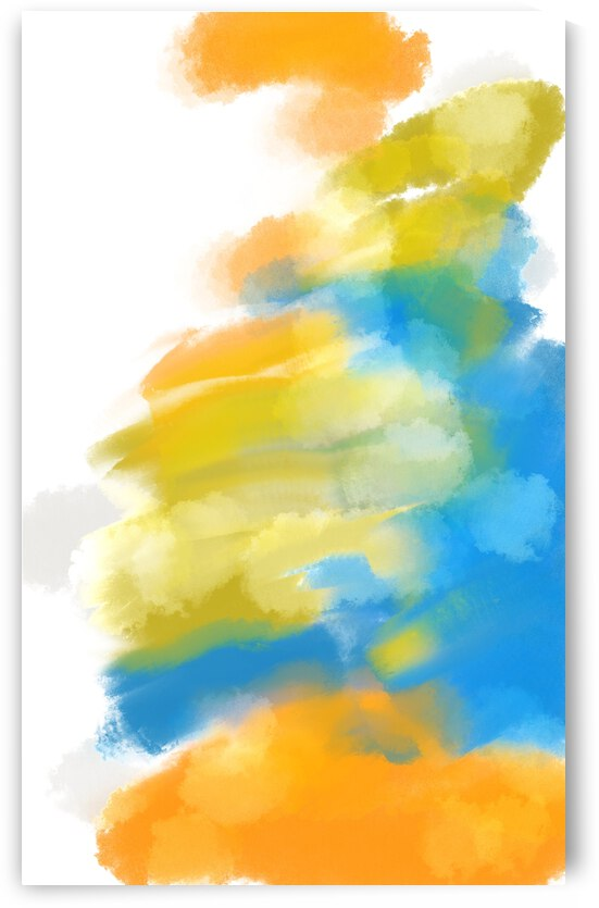 ABSTRACT PAINTING 02 by ABSTRACT PAIINTER