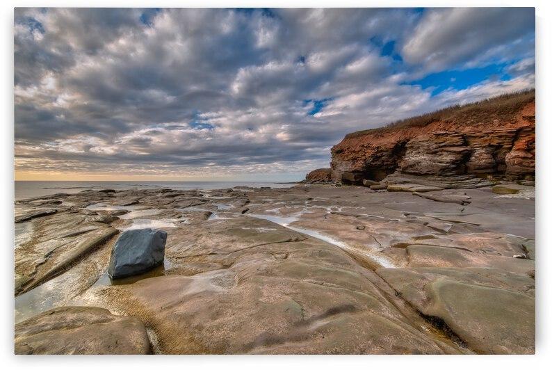 Low Tide in Petit Etang by Michel Soucy