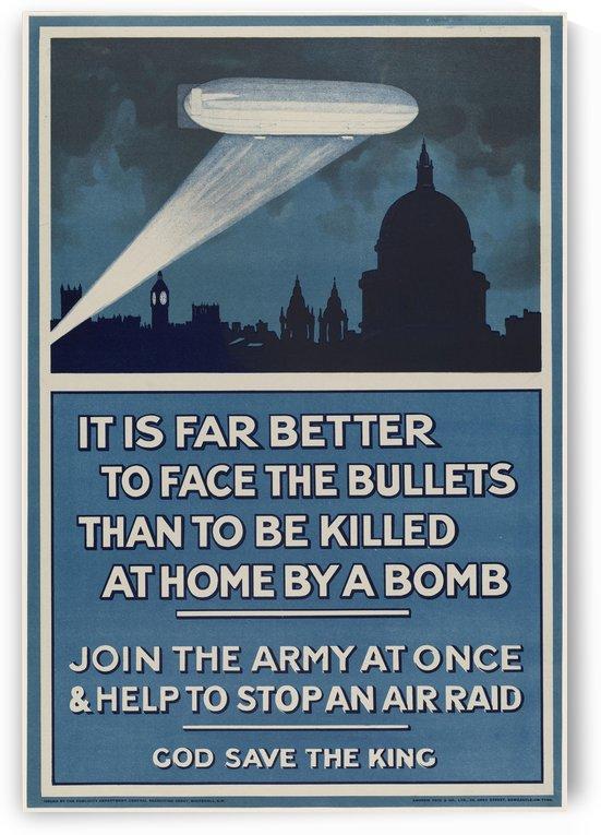 World War I poster by VINTAGE POSTER